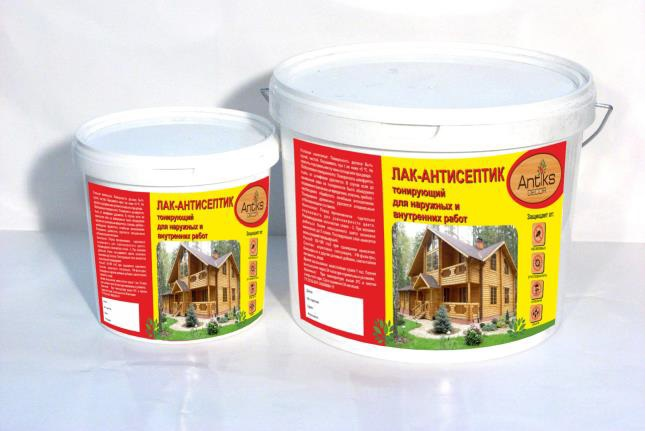 Antiks Decor (Антикс Декор) лак антисептик (4 в 1) для древесины (2,5 кг) калужница